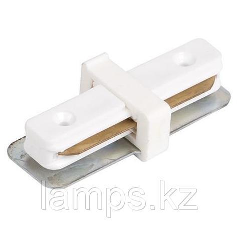 Коннектор (соединитель) прямой для шинопровода черный, фото 2