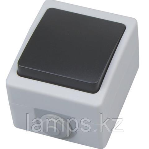 Выключатель одиночный накладной ATOM 10A/ IP54