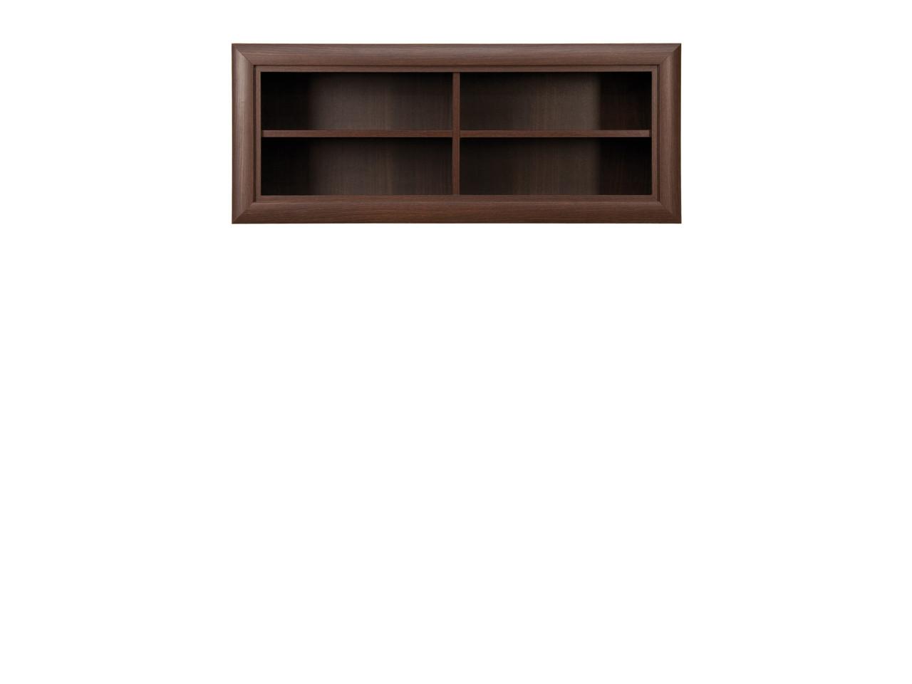 Шкаф для книг навесной, коллекции Коен, Венге Магия, БРВ Брест (Беларусь)