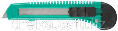 Нож DEXX с сегментированным лезвием, инструментальная сталь Ст60, пластиковый корпус, 18мм, фото 2