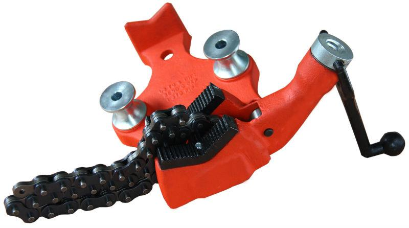 Тиски трубные цепные мод. H402