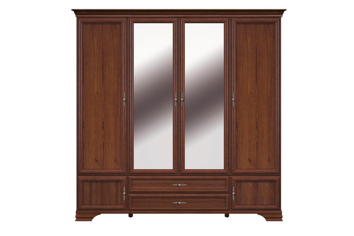 Шкаф для одежды 6Д , коллекции Кентаки, Каштан, БРВ Брест (Беларусь)