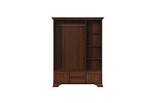 Шкаф для одежды 5Д , коллекции Кентаки, Каштан, БРВ Брест (Беларусь), фото 2