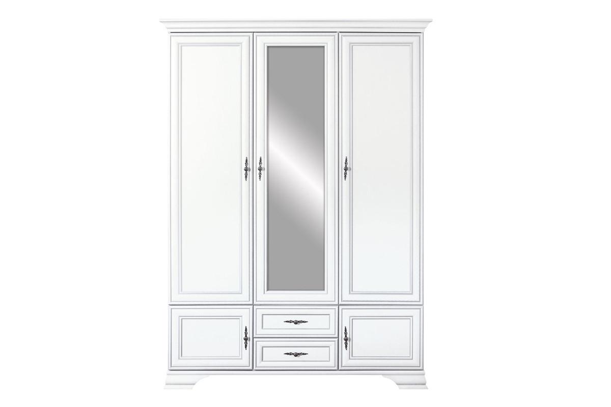 Шкаф для одежды 5Д , коллекции Кентаки, Белый, БРВ Брест (Беларусь)