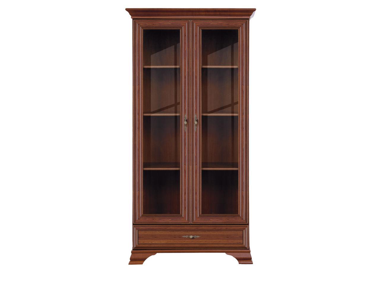 Шкаф витрина 2Д , коллекции Кентаки, Каштан, БРВ Брест (Беларусь)