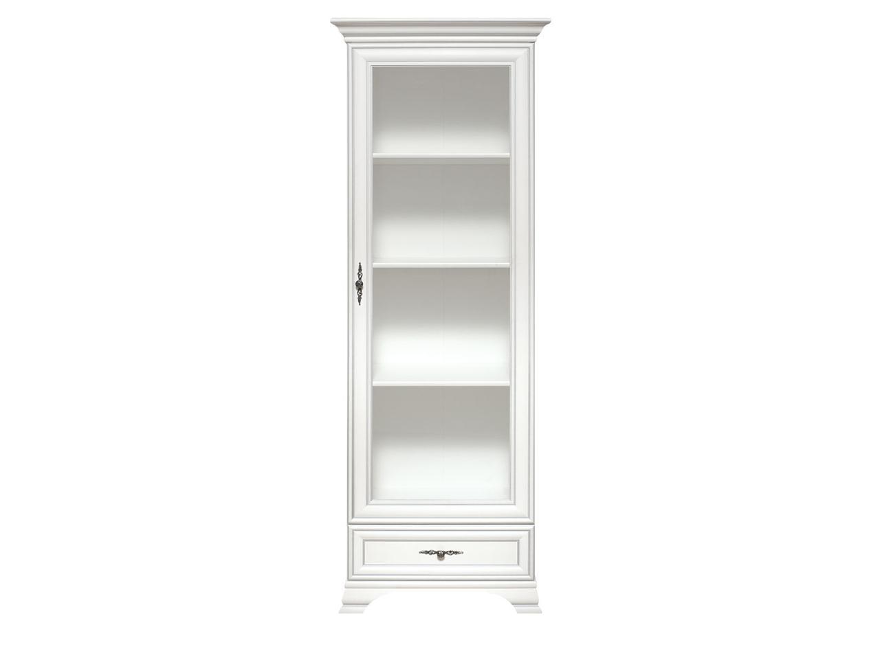 Шкаф витрина 1Д , коллекции Кентаки, Белый, БРВ Брест (Беларусь)
