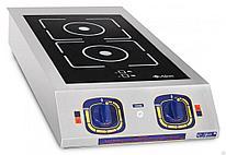 Плита индукционная 2-х конфорочная Abat КИП-27Н