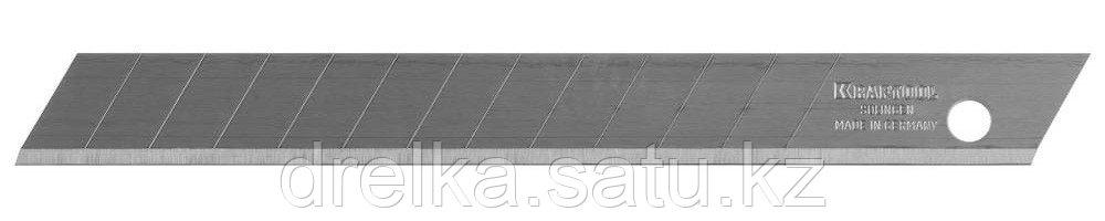 """Лезвие """"SOLINGEN"""" сменное, KRAFTOOL, легирован инструмент сталь, многоур закалка,13сегментов, 9 мм, 5шт"""