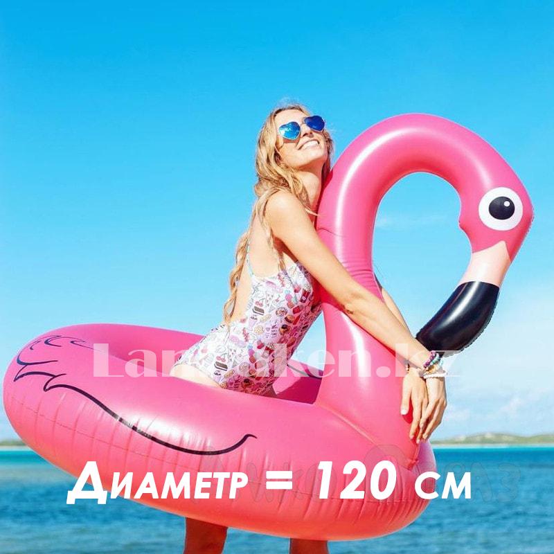 """Надувной круг """"Фламинго"""" 120 см"""