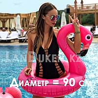 "Надувной круг ""Фламинго"" 90 см, фото 1"