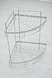 Угловая полка для ванной, фото 4