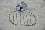 Настенная мыльница металлическая из нержавеющей стали, фото 5