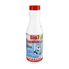 Биоактиватор для удаления канализационного камня и засоров в трубах Bio 7 Canalisations