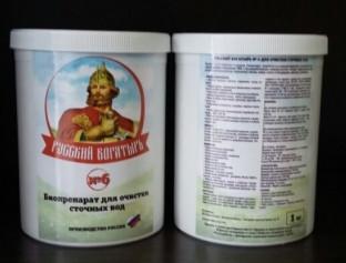 Биоактиватор Русский богатырь №6. 5 кг (ведро)