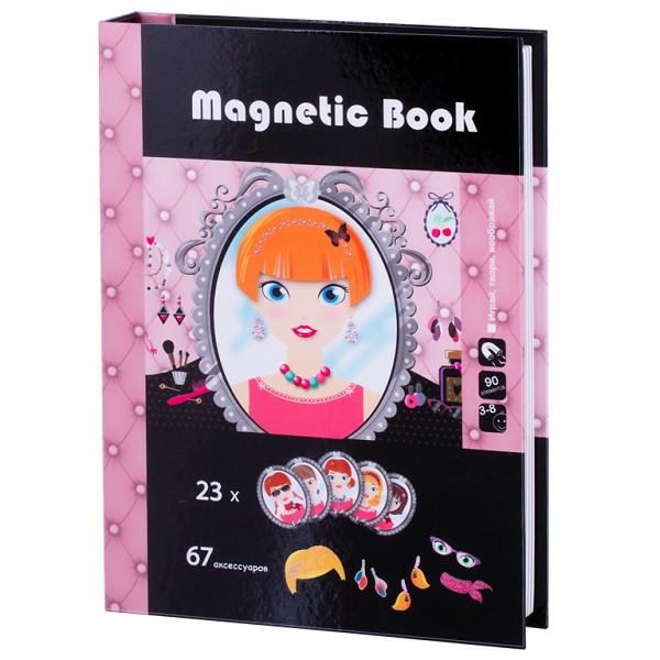 "Magnetic Book TAV028 Развивающая игра ""Стилист"""
