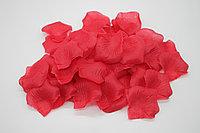 Лепестки роз искусственные (красные) - 100 штук
