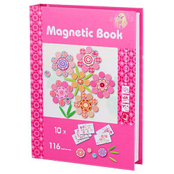 """Magnetic Book TAV030 Развивающая игра """"Фантазия"""", 126 деталей"""