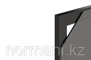 Профиль рамочный FP.02, L=3000мм, отделка черная
