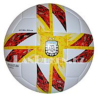 """Футбольный мяч """"AFA Argentum tropheo"""", белый желто-красным узором"""