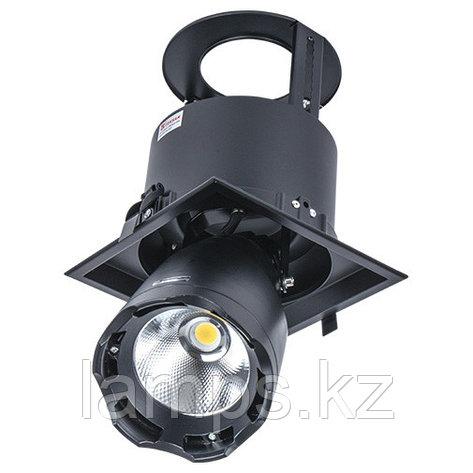 Светильник направленного света, светодиодный, потолочный LED LS-DK912-1 40W 5700K BLACK, фото 2