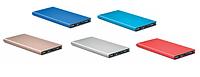 Power Bank Аккумулятор на 8000 mAh из алюминия. синий,голубой,золотой,черный,красный, фото 1