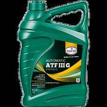 Трансмиссионное масло Eurol ATF III G 5L