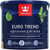 Краска для обоев и стен EURO TREND A мат 2,7 л