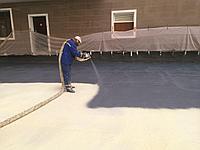 Теплоизоляция пена, пенаполиуретан,пена напыляемая, теплоизоляция подвальных помещений, утепление чердака, фото 1
