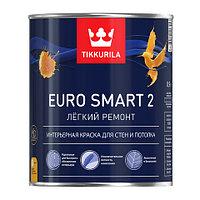 Краска интерьерная EURO SMART 2 VVA гл/мат 0,9 л