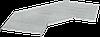 Крышка поворота лестничного 90град осн. 500мм R300 IEK