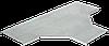 Крышка разветвителя Т-образного осн. 400мм R300 IEK