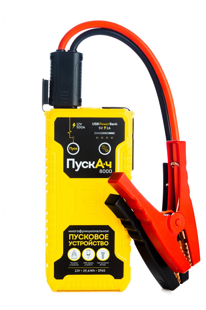 Пусковое многофункциональное устройство Battery Service ПускАч 8000