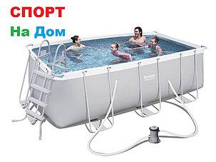 Каркасный прямоугольный бассейн Bestwey 56456 (412 х 201 х 122 см, на 8703 литра), фото 2