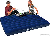 Надувной матрас INTEX Classic Downy 68755 (Оригинал)