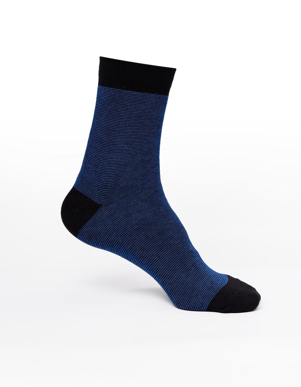 Мужские носки,хлопок, синие