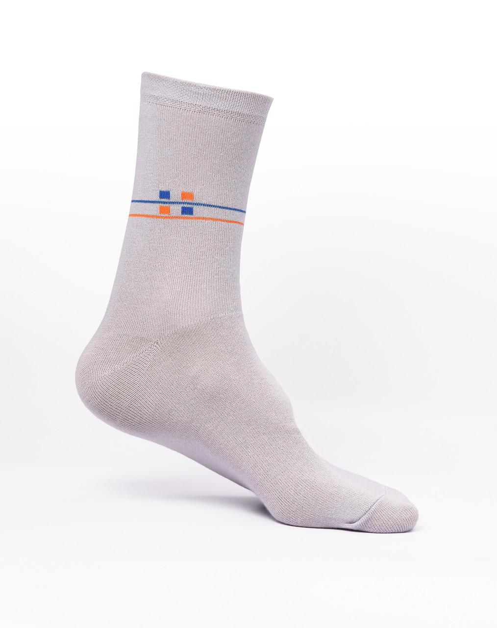 Мужские носки хлопок, серые