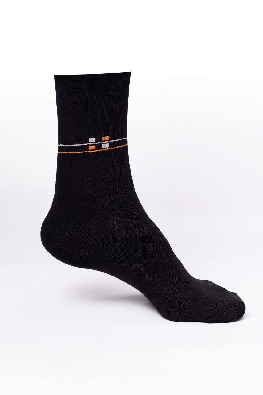 Мужские носки хлопок, черные
