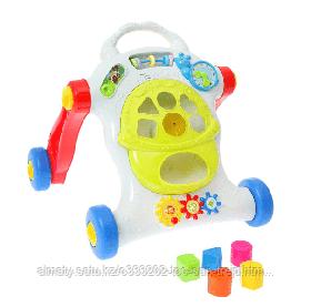 Каталка-ходунки с сортером Music Baby Walker (свет, звук)