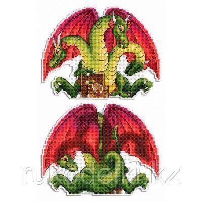 """Набор для вышивания крестом """"Змей Горыныч """""""