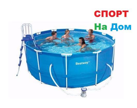 Каркасный бассейн Bestway 56420 (366 х 122 см, на 10250 литров)