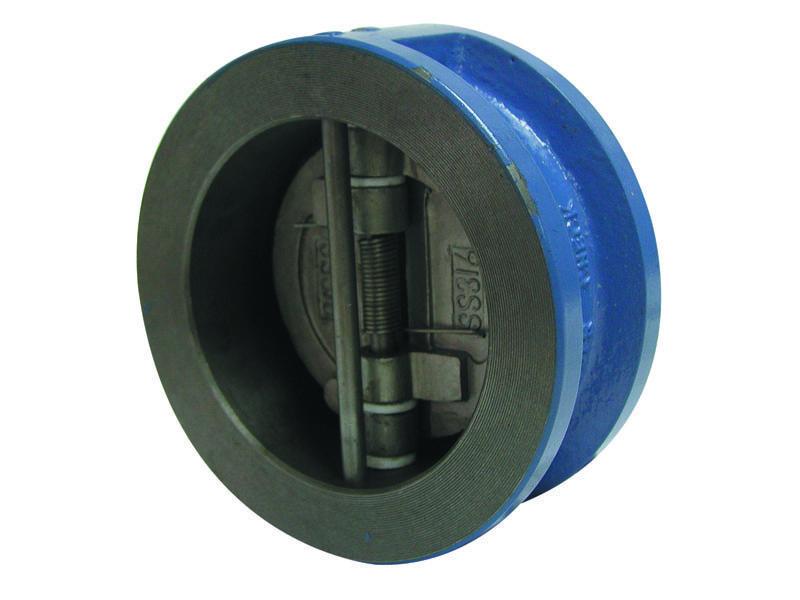 Клапан обратный межфланцевый из чугуна DN100 PN16 Genebre Испания