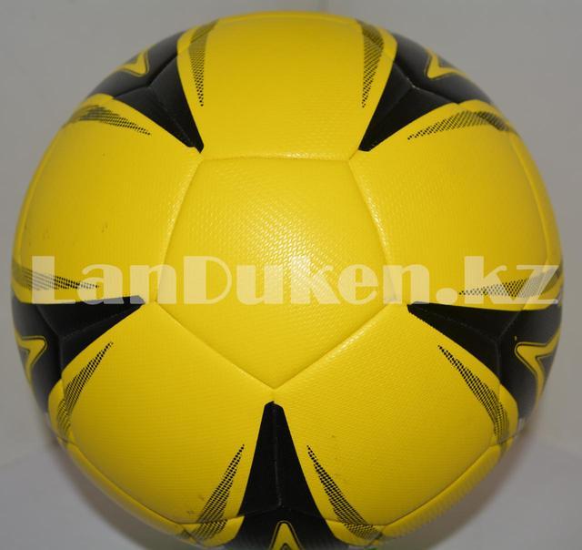 """Футбольный мяч """"Super latex"""" желтый"""