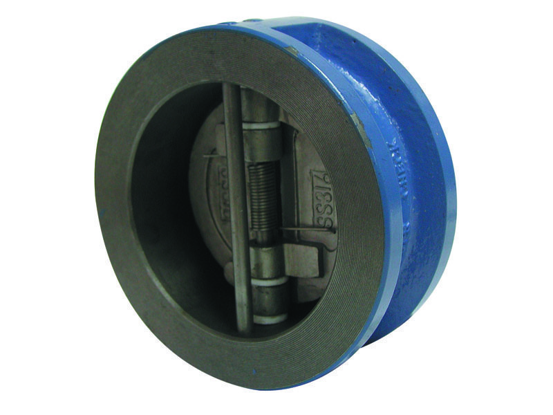 Клапан обратный межфланцевый из чугуна DN250 PN16 Genebre Испания