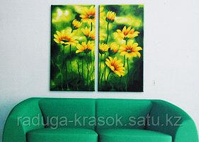 """Картины по номерам """"Солнечная зелень"""""""