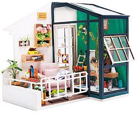 Развивающий интерьерный конструктор Diy House Балкон мечты