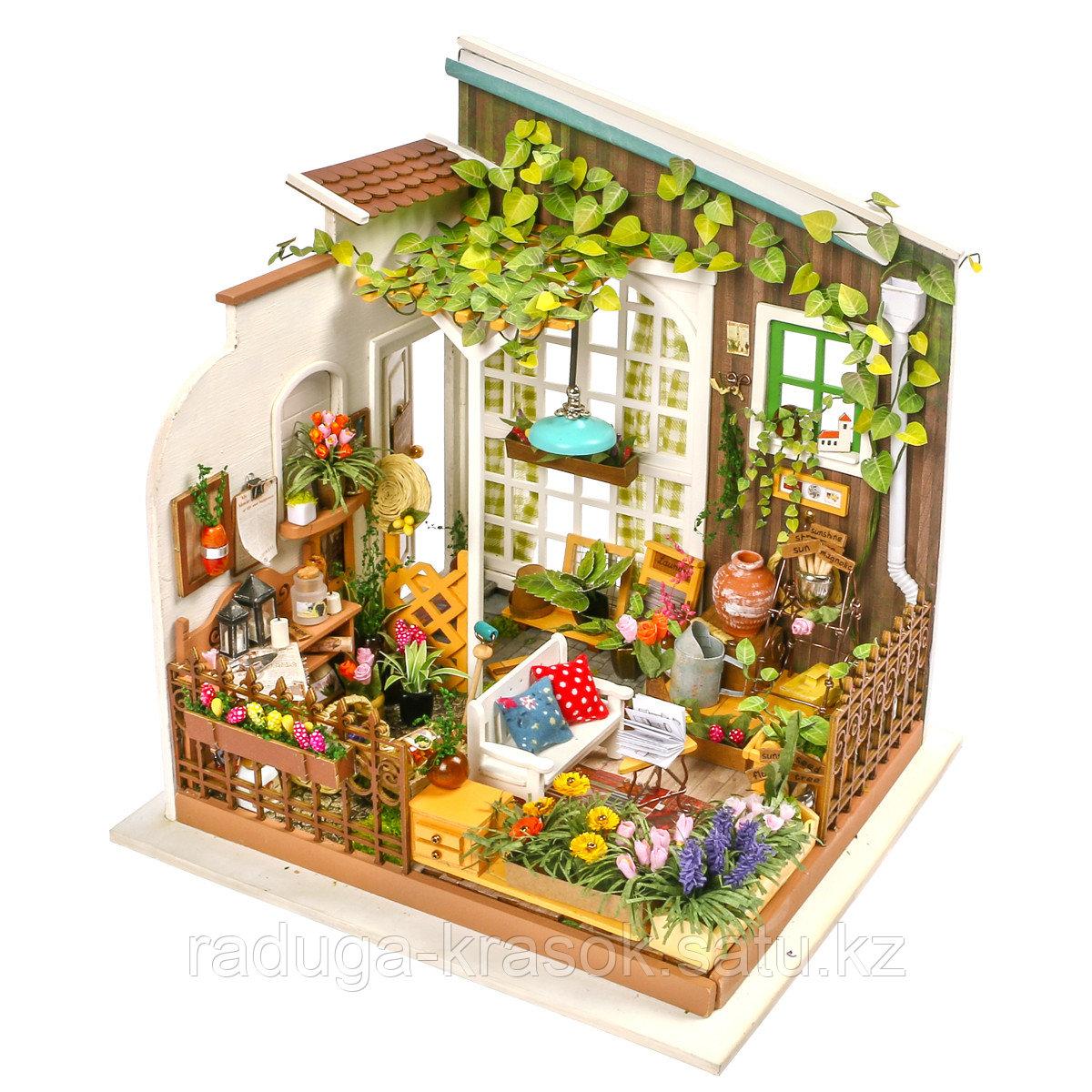 Развивающий интерьерный конструктор Diy House  Сад