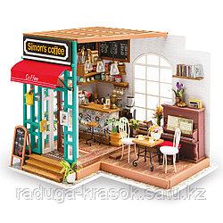 Развивающий интерьерный конструктор Diy House  Кофейня
