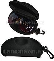 Футляр для очков (чехол) с подвеской,черный