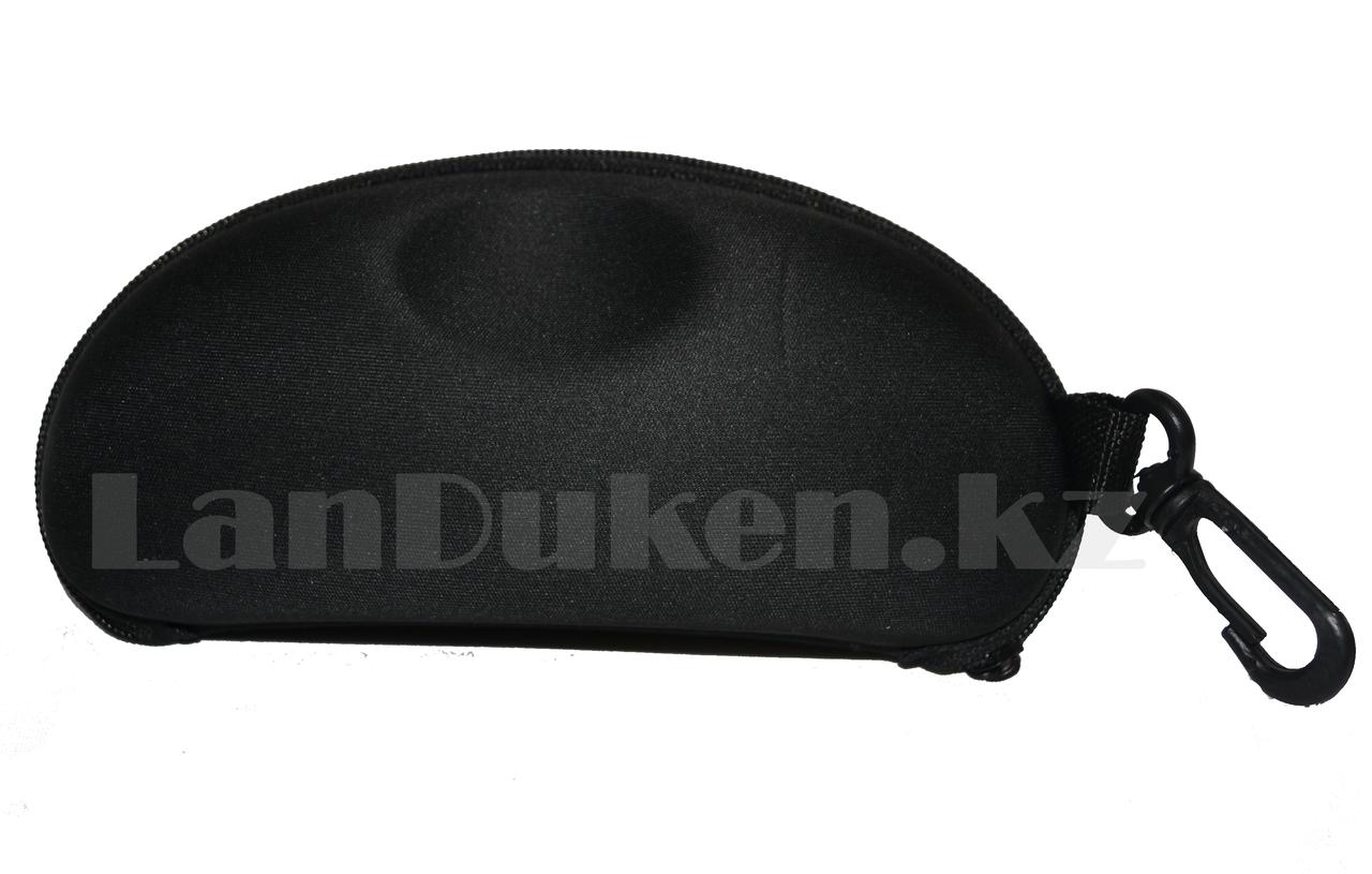 Футляр для очков (чехол) с подвеской,черный - фото 3