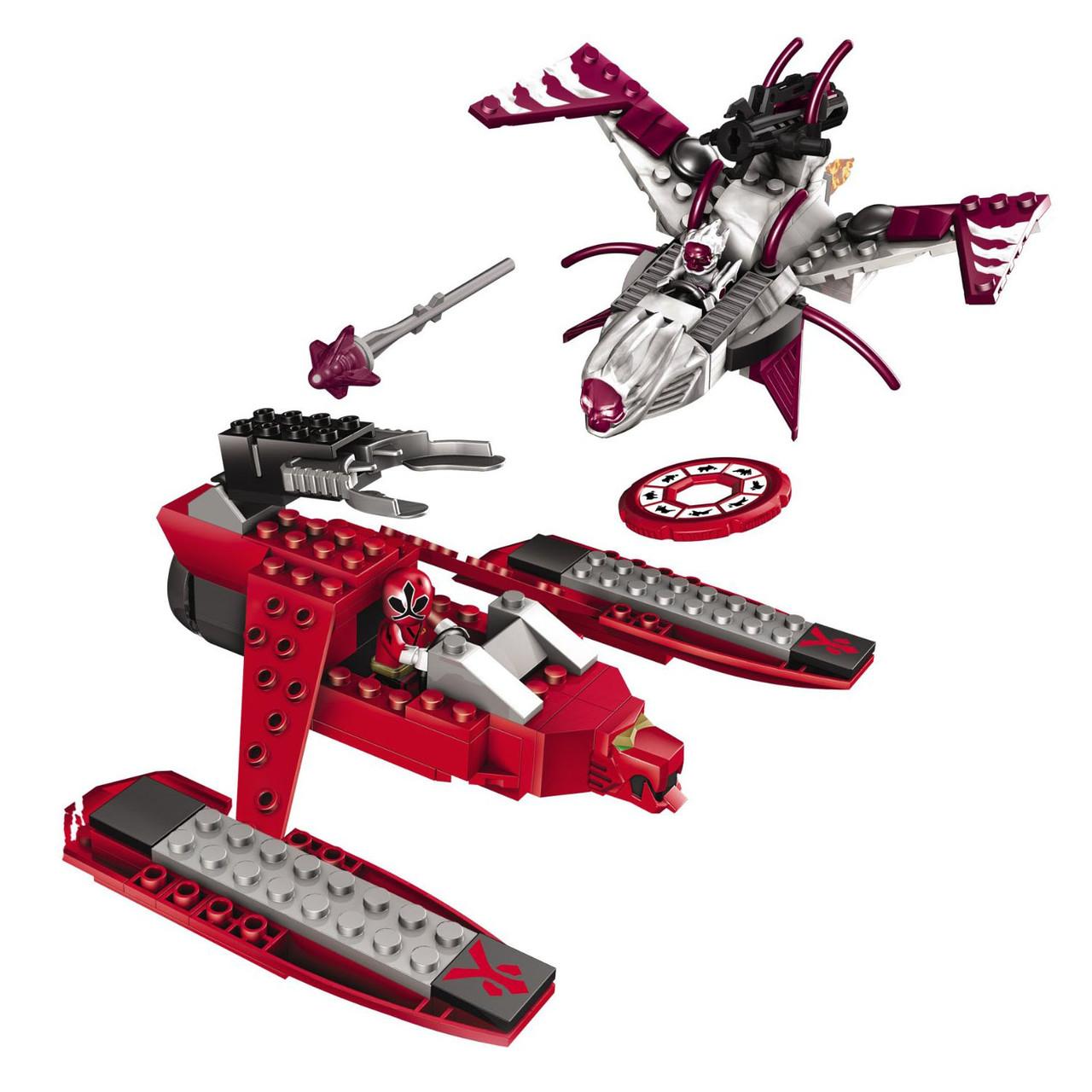 MegaBloks 5789 Power Rangers Super Samurai 'Красный рейнджер против Декера'